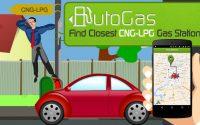 AutoGas Mobile App – Find Closest CNG-LPG Gas Station